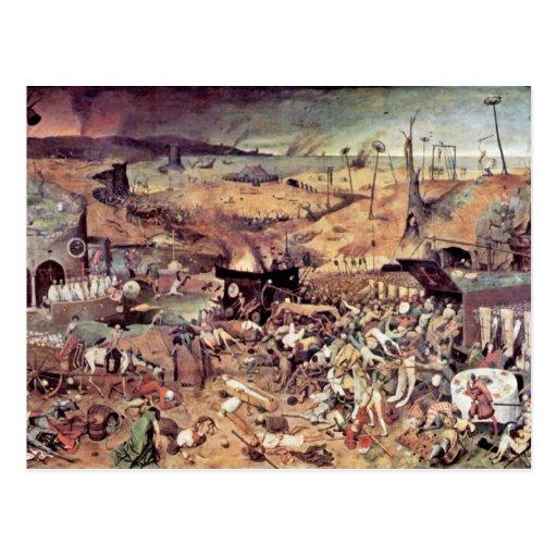 Triumph de la muerte por Bruegel D. Ä. Pieter Postales