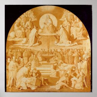 Triumph de la religión en los artes, antes de 1840 poster