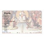 Triumph de la religión en los artes plantilla de tarjeta personal
