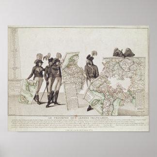 Triumph de los ejércitos franceses posters
