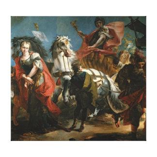 Triumph de Marco Aurelius Impresión En Lienzo Estirada