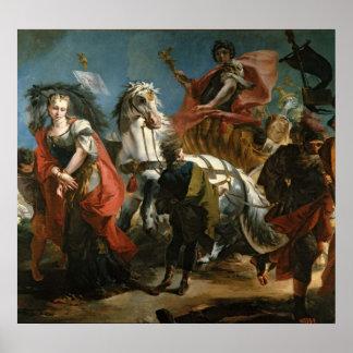 Triumph de Marco Aurelius Póster