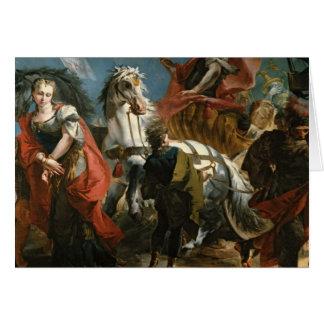 Triumph de Marco Aurelius Tarjeta De Felicitación
