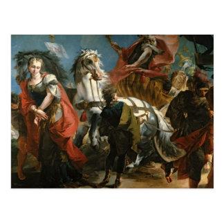 Triumph de Marco Aurelius Tarjeta Postal