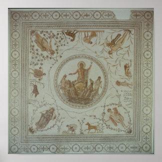 Triumph de Neptuno y de las cuatro estaciones Posters