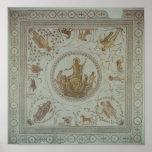 Triumph de Neptuno y de las cuatro estaciones Póster