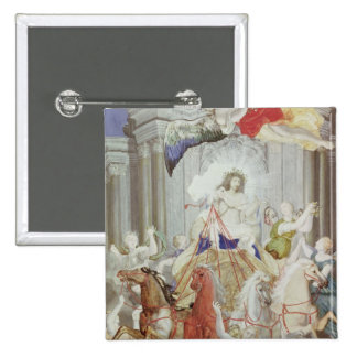 Triumph de rey Louis XIV de Francia Pins