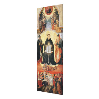 Triumph de St Thomas Aquinas Impresión En Lona Estirada