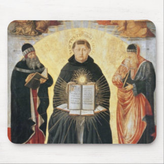 Triumph de St Thomas Aquinas Tapete De Ratones