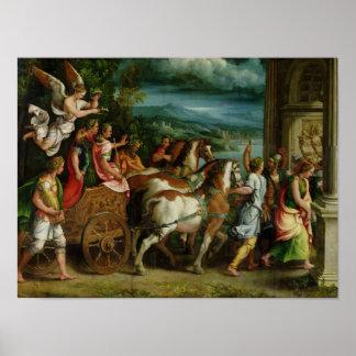 Triumph de Titus y de Vespasian c 1537 Impresiones