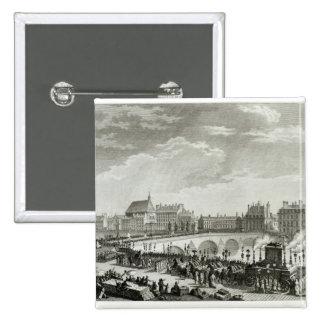Triumph de Voltaire Pin Cuadrada 5 Cm