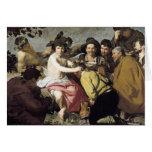 Triumph del Bacchus, 1628 Tarjeta De Felicitación