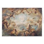 Triumph del Cupid sobre todos los dioses, 1752 Tarjeta De Felicitación