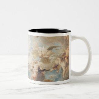 Triumph del Cupid sobre todos los dioses, 1752 Taza De Café