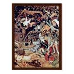 Triumph del detalle de la muerte por 0 (la mejor c tarjeta postal