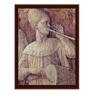 Triumph del detalle de Scipio de Andrea Mantegna Postales