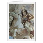 Triumph del Medici de Luca Giordano Tarjeton