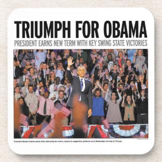 Triumph for Obama: Obama 2012 Coaster