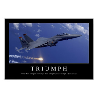 Triumph:: Inspirational Quote 1 Poster