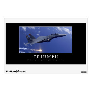 Triumph:: Inspirational Quote 1 Wall Decal