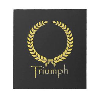 Triumph Note Pads