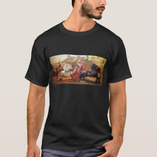 Triumph of Achilles - fresco at Corfu - Achellion T-Shirt