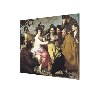 Triumph of Bacchus, 1628 Canvas Print
