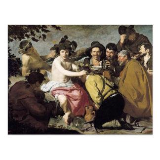 Triumph of Bacchus, 1628 Postcard