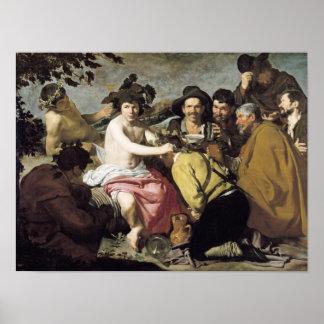 Triumph of Bacchus, 1628 Poster