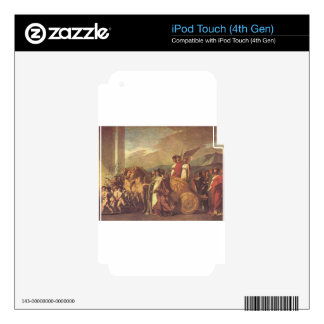 Triumph of Bonaparte and Peace by Pierre-Paul Skins For iPod Touch 4G