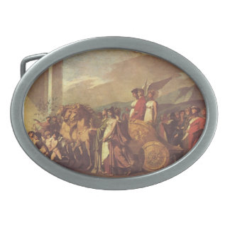 Triumph of Bonaparte and Peace by Pierre Prud'hon Belt Buckle