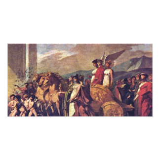 Triumph Of Bonaparte, Or Peace (Sketch) By Prud'Ho Photo Cards