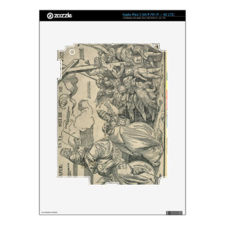 Triumph of Christ (wood engraving) iPad 3 Decal