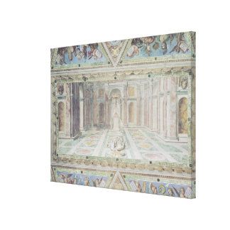 Triumph of Christianity, from the Raphael Rooms Stretched Canvas Print
