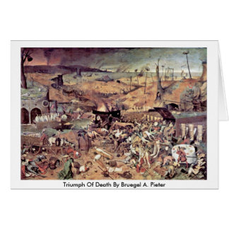 Triumph Of Death By Bruegel A. Pieter Greeting Cards