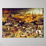 Triumph of Death (by Pieter Bruegel) Poster