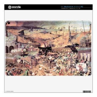 "Triumph of Death by Pieter Bruegel Skins For 11"" MacBook Air"