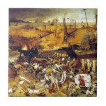 Triumph of Death (by Pieter Bruegel) Tiles