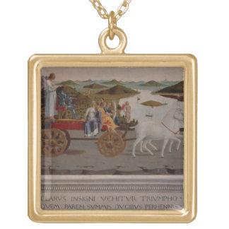 Triumph of Federigo da Montefeltro, Duke of Urbino Necklaces