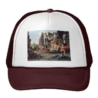 Triumph Of Flora By Tiepolo Giovanni Battista Trucker Hats