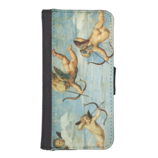 Triumph of Galatea, Angels detail by Raphael iPhone SE/5/5s Wallet Case