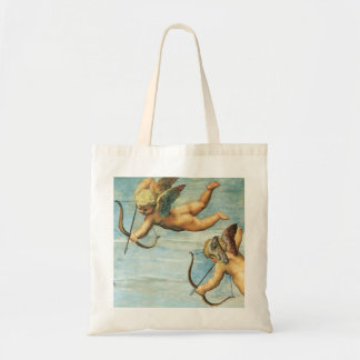 Triumph of Galatea, Angels detail by Raphael Tote Bag