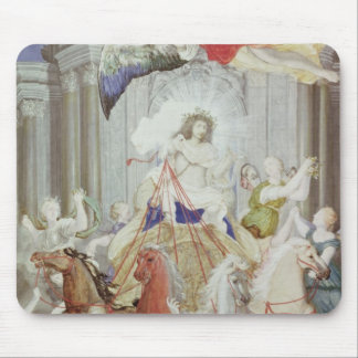 Triumph of King Louis XIV  of France Mouse Pad
