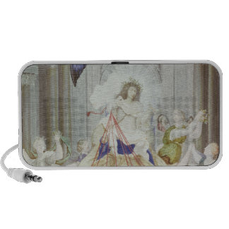 Triumph of King Louis XIV  of France Travel Speakers