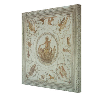 Triumph of Neptune and the Four Seasons Canvas Print