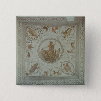 Triumph of Neptune and the Four Seasons Pinback Button