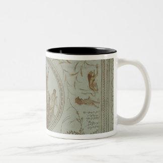 Triumph of Neptune and the Four Seasons Two-Tone Coffee Mug