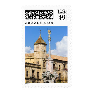 Triumph of Saint Rafael and Palacio Episcopal Postage Stamps