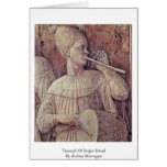 Triumph Of Scipio Detail By Andrea Mantegna Greeting Card