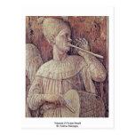 Triumph Of Scipio Detail By Andrea Mantegna Postcard